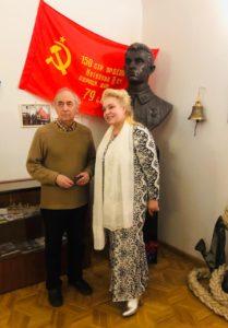 Геннадий Иванов и Елена Велена в Союзе писателей России